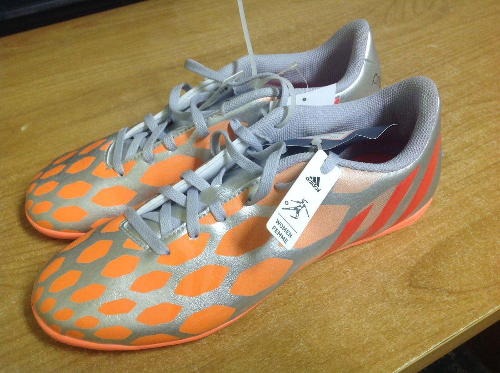 wo  adidas adidas adidas prédateur instinct fg crampons / chaussures Argent  rouge orangé | Shop  7e6303