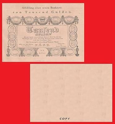 AUSTRIA 10 Gulden 1880 UNC Reproduction