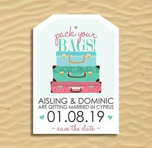 Image Is Loading 15p Or Less Each Suitcase Luggage Tag Diy