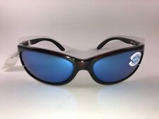 3b89c33267337 Costa Del Mar Fathom FA 10 Men s Polarized 400G Blue Mirror Lens Tortoise  Frame