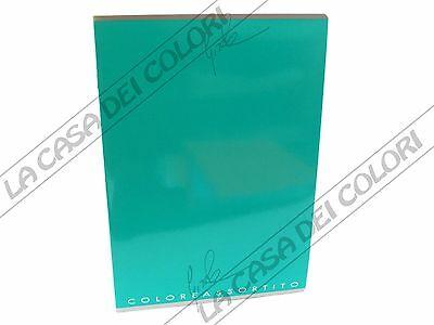 Sportivo Top Quality - Verde - Quaderno A4 - Rigo C (0c Riga 10 Mm E Margine)