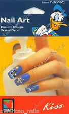 KISS Bijoux d'ongle stickers décals a l'eau Nail Art Donald Mickey Disney 2
