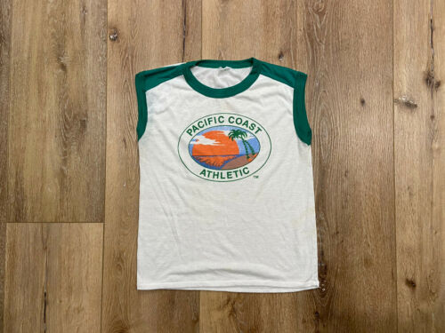 VINTAGE 90s - Pacific Coast Athletic - Surf Shirt