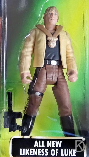 Luke Skywalker In Ceremonial sealed Kenner Star Wars Green Hologram Action Figur