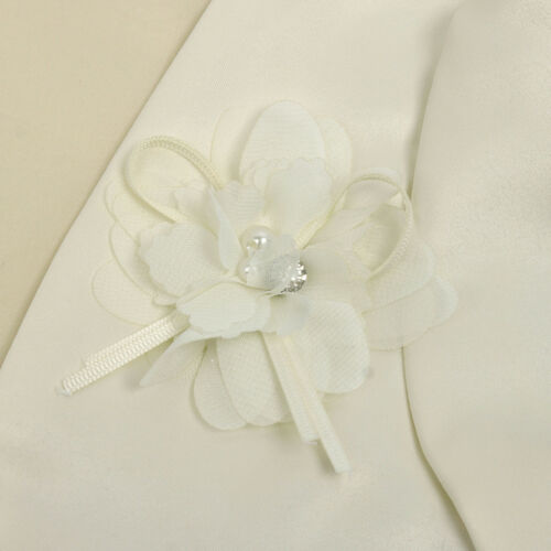 Girls Kids Bolero Short Cardigan Shrug Flower Wedding Party Dress Cover Jacktet