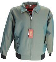 Retro Green/gold Tonic Mod Harrington Jackets In Sizes X Small /3xl Free Postage