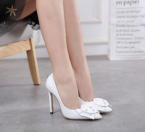 Cm Cw967 Alti Decolte Eleganti Sandali Bianco 11 Lucido Pelle Stiletto Simil wWtqA4Fv
