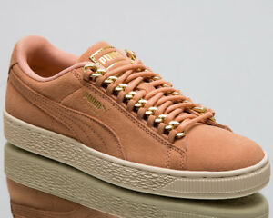 a80034fb695d Puma Wmns Suede Classic x Chain Women New Coral Lifestyle Sneakers ...
