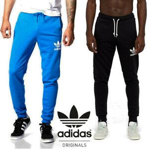 Adidas-Originals-Men-039-s-Trefoil-Sweat-Pants-Trousers-FREE-NEXT-DAY-DELIVERY