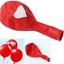 6-ballon-Blanc-avec-c-ur-rouge-ou-rouge-avec-c-ur-blanc-fete-St-valentin-mariage miniature 6