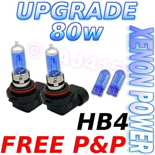 Grand Cherokee 98-06 80w Xenon Dip Beam Bulbs HB4+501
