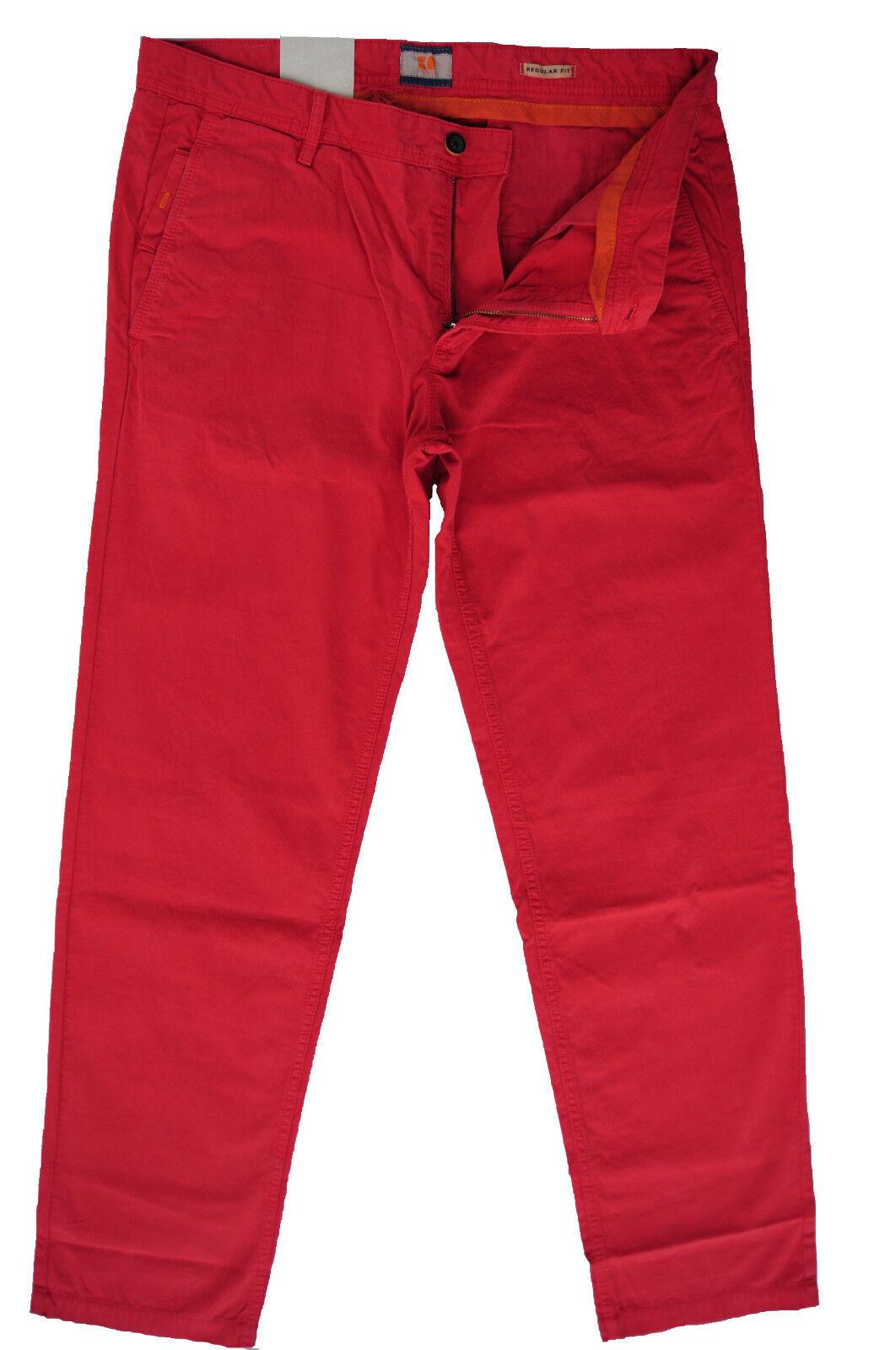 NEU W33 L34 W33 L36 HUGO BOSS HOSE Orange SCHINO-REGULAR-D 50184757