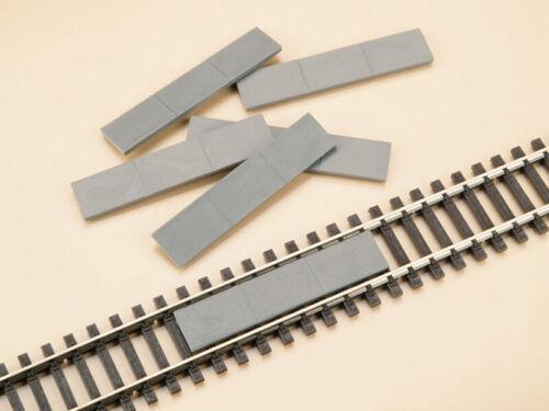 je 63 x 13 mm 10 Stück Auhagen 48603 Gleiseinlagen NEU in OVP
