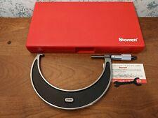 Starrett 5 6 Inch Micrometer No 226xrl 0001 Carbide Faces