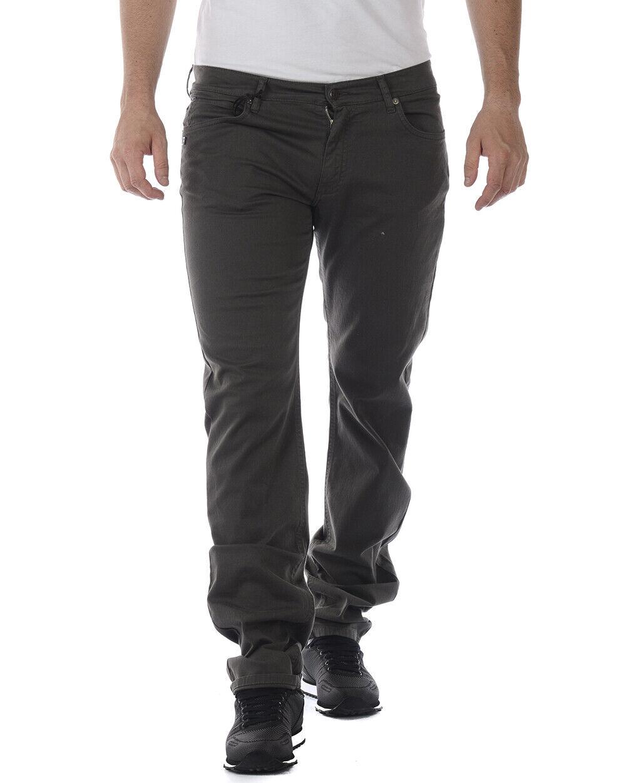Pantaloni Daniele Alessandrini Jeans Trouser STRETCH men grey P9002L100 24