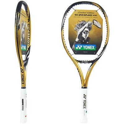 Yonex 2019 EZONE 100 Tennis Racquet Racket Gold Edition 100sq 285g G2 16x19