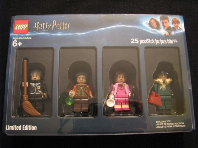 Lego 4 minifigures Harry Potter 5005254 Limited Edition