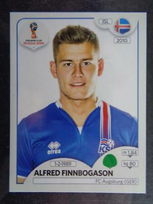 Sticker 308 Island Alfred Finnbogason Panini WM 2018 World Cup Russia