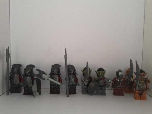 Figuren: Uruk-Hai Lego Der Herr der Ringe // Der Hobbit Gundabad Orks Auswahl