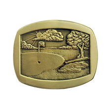 The 10th Hole Golf Belt Buckle OBMS110 IMC-Retail
