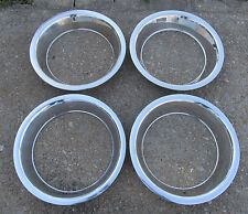 NOS ? 1968-1982 Corvette Rally Wheel Trim Ring Set of 4 GM 15 x 8