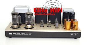 1974-FirstClass-Roehren-Endverstaerker-Luxman-KMQ-80-120-230-Volt