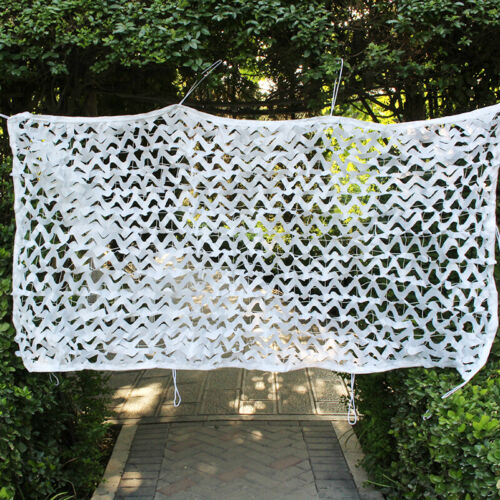 2X3 4X4 Meter Snow White Camouflage Net Camping Camo Netting Wedding Decoration