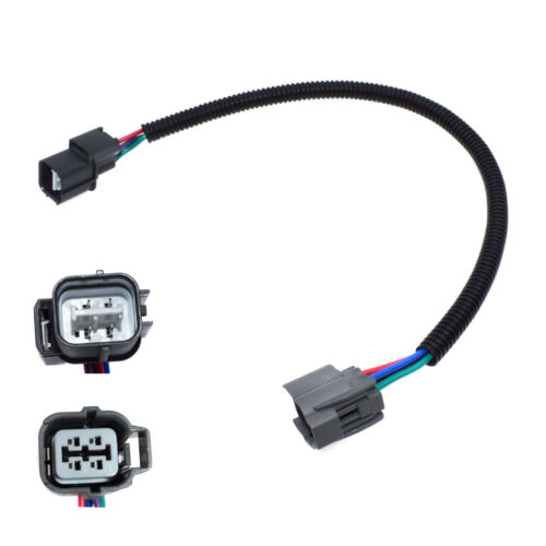 New O2 Oxygen Sensor Extension Harness 4 Wire Cable Kit For Honda UP//Downstream