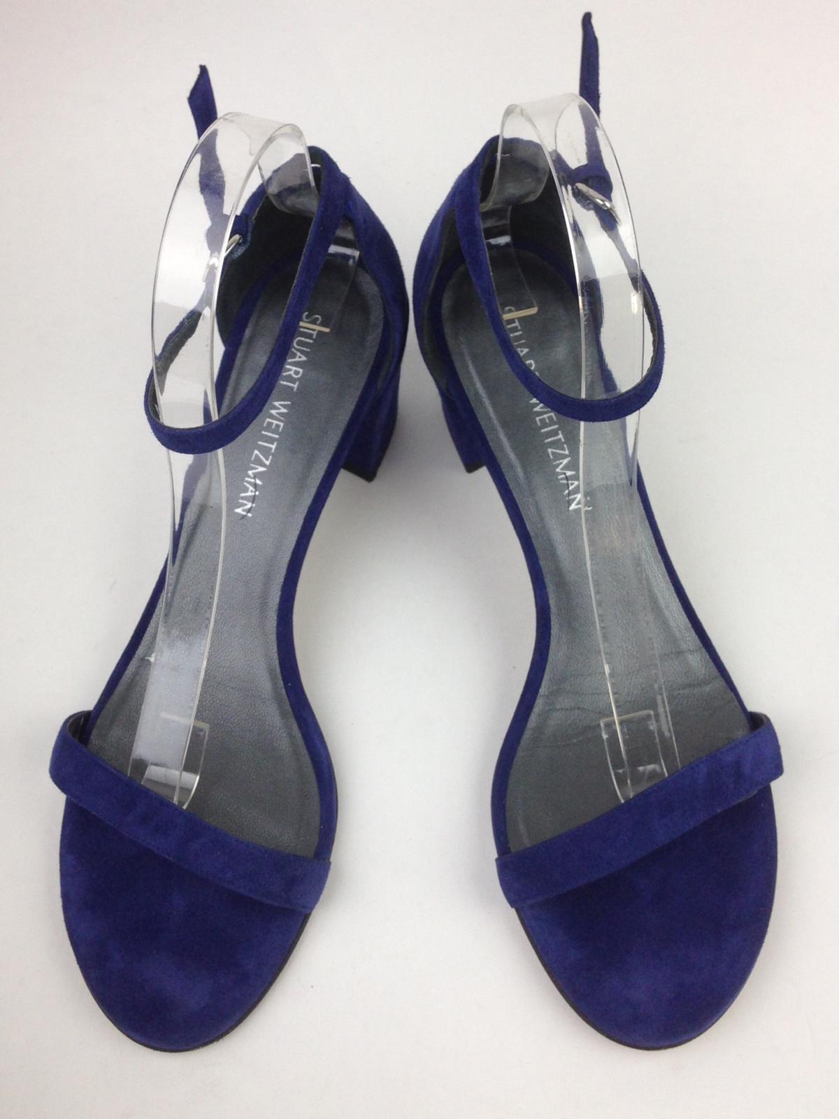 STUART WEITZMAN Simple Ankle Strap Sandal sz 9M