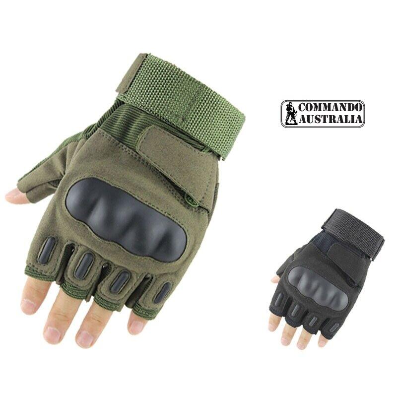 COMMANDO Factory Pilot Glove - Fingerless