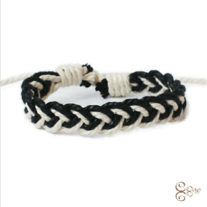 New Fashion Linen Bracelet Female Charm Cuff Woven Bracelet New Jewelry Gift