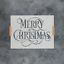 Merry-Christmas-Stencil-Durable-amp-Reusable-Mylar-Stencils thumbnail 1