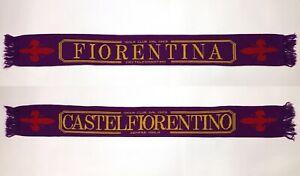 FIORENTINA-CASTEL-FIORENTINO-SEMPRE-VIOLA-CLUB-DAL-1969-VINTAGE-SCARF-SCIARPA