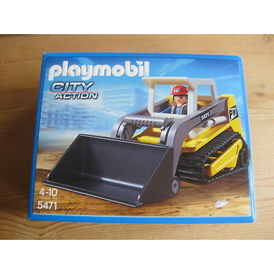 Playmobil city action, Raupe, sehr gut erhalten