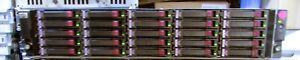 LOT-OF-9-AJ941A-HPE-StorageWorks-D2700-25-Bay-SFF-2-5-034-2U-25-SAS-146GB-15K