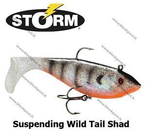 Storm R.I.P Curly Tail Big Soft Bait Shad Predators 62 82g 20cm 22cm Colours