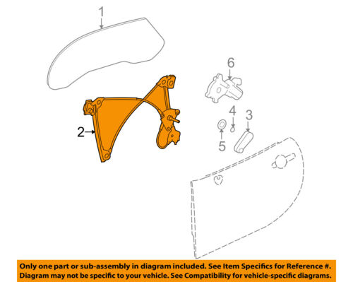 Car & Truck Parts Automotive Pontiac GM OEM 06-09 Solstice Door ...