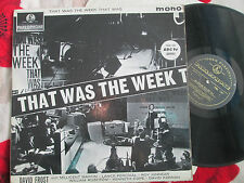 That Was The Week That Was Parlophone ‎PMC 1197 Mono UK Vinyl LP Album