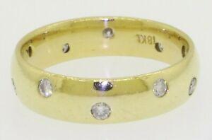 18K-gold-elegant-high-fashion-40CTW-diamond-eternity-band-ring-size-7