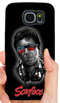 New Scarface Tony Montana Art Apple iPhone & Samsung ... |Scarface Phone Case