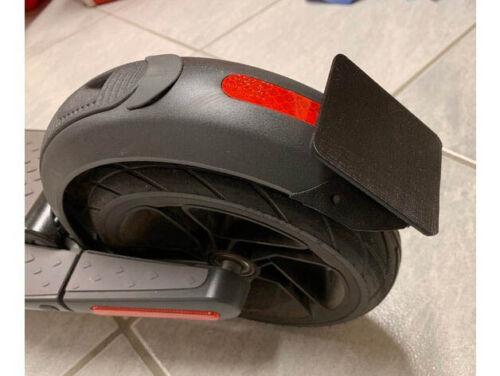 License PLATE ninebot SEGWAY es1//es2//es4 e SCOOTER TARGA RED