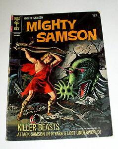 MIGHTY-SAMSON-7-GOLD-KEY-KILLER-BEASTS-1966
