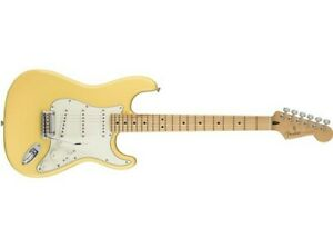 Fender-Player-Stratocaster-Electric-Guitar-Buttercream-Maple-Fingerboard-Used
