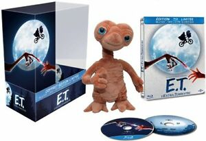 E.T. l'Extra-Terrestre [Blu-ray / DVD  + 1 Peluche ] NEUF