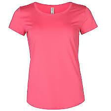 Under-Armour-Womens-Thermal-Short-Sleeve-Pink-T-Shirt-Size-8-XS-REF53