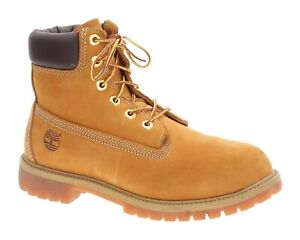 Details about TIMBERLAND BOOTS Juniors 7 M Premium WATER PROOF Original Yellow Boots Hiking
