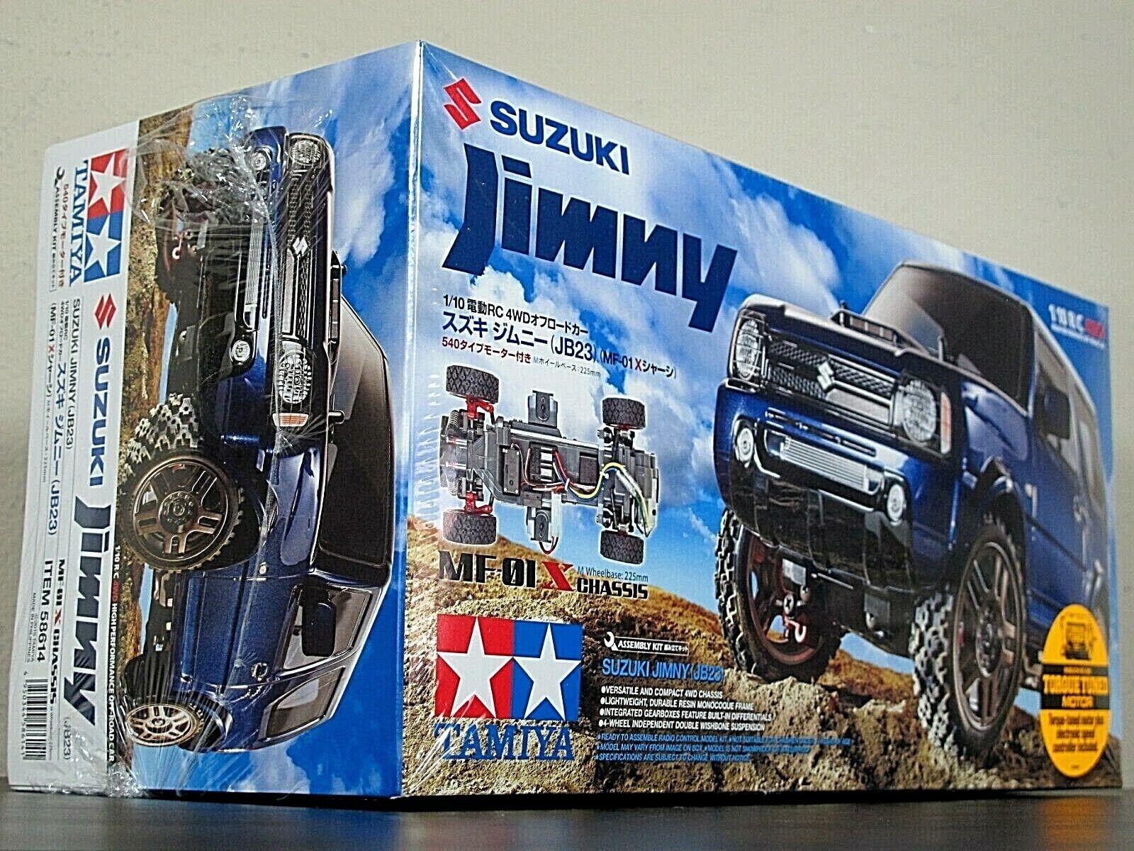 New In Box Tamiya 58614 4WD 1 10 RC Suzuki Jimny JB23 - MF-01X Chassis Kit