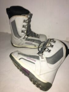 Womens-Morrow-Wildflower-Snowboard-Boots-sz-7-Black-Snow-Board-eu-37