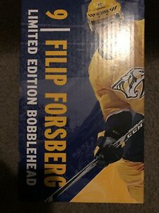 Filip Forsberg Limited Edition Bobblehead 10-31-2019 Nashville Predators