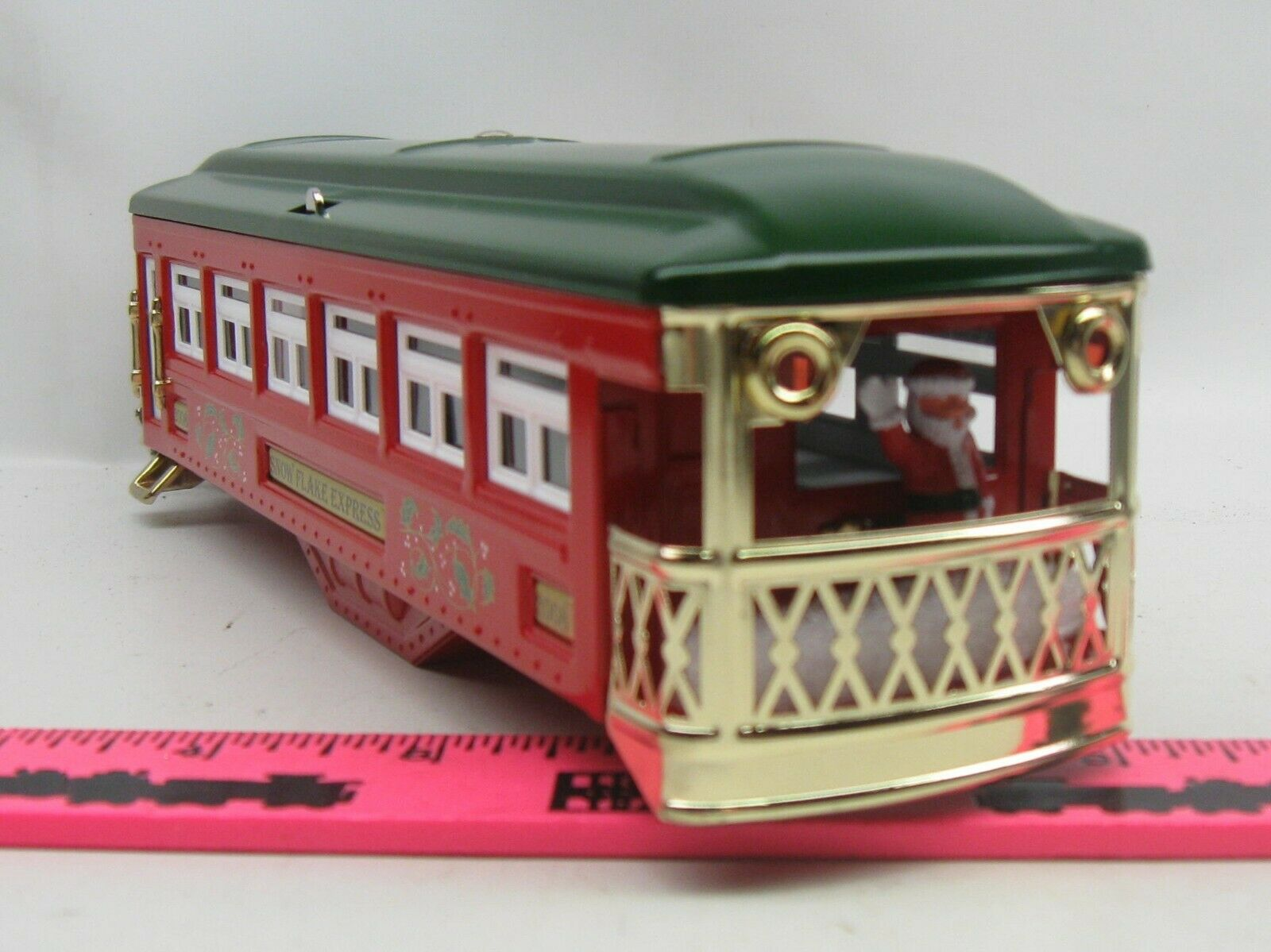 Lionel shell  2008 Christmas Snow Flake Express passenger shell Tinplate